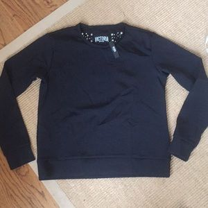 Victoria Sport Long Sleeve Black Workout Top